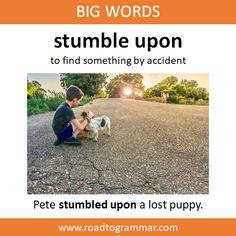 Big Words: Stumble Upon English Sentences, English Idioms, English Phrases, Learn English Words, English Writing, English Grammar, English Vinglish, Advanced English Vocabulary, English Speaking Skills