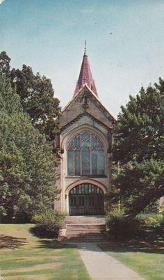 WELLESLEY MA - Wellesley College Houghton Memorial Chapel