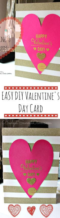 EASY DIY Valentine's Day Cards Tutorial