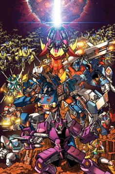 TF MTMTE 17 cover colors by markerguru on DeviantArt