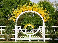 Chihuly glass installation at Missouri Botanical Gardens in St. Louis, MO  He's Amazing! ..... & .....  He never disappoints .....