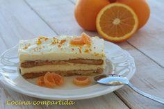 Cocina compartida: Falso Tiramisú de naranjas