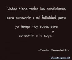MusasYFantasias: Frases de Mario Benedetti