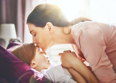Photo about A nice girl and her mother enjoy sunny morning. Good time at home. The mom wakes the kid with a kiss on the bed in the bedroom. Image of bedroom, healthy, parent - 91672671 Paleo Diet, Ketogenic Diet, Family Images, Student Engagement, Getting Pregnant, Diet Recipes, Cool Girl, Health Fitness, Parenting