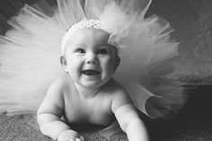 6 month old photo shoot