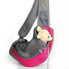 BleuMoo Pet Dog Cat Puppy Carrier Mesh Comfort Travel Tote Shoulder Bag  Sling Backpack    Details can be found by clicking on the image. 2e2d79c19