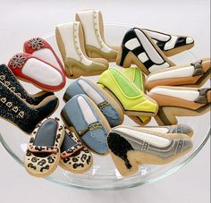 15 Amazing Food Craft Inspirations for Cute Cookies: Shoes culinary-art culinary-art
