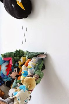 Children's room - DIY recycle your plushes - Rafa Kids