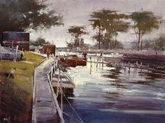 Mordialloc Creek By Herman Pekel ,1994