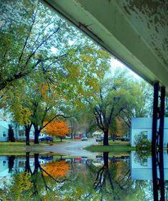 fall picture after rain, beautiful  #MyVSFallEdit