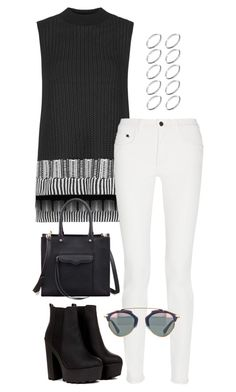 """Untitled #2990"" by meandelstyle ❤ liked on Polyvore featuring Topshop, Proenza Schouler, Rebecca Minkoff and ASOS"