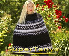 Made to order thick and fuzzy hand knit mohair by supertanya