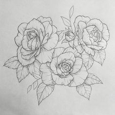 Rose tattoo. Contact me for custom drawings and tattoo designs clairestokes93@yahoo.com  Or check out my Instagram clairestewart25. Plus my etsy is where it's at!  link to my store: https://www.etsy.com/listing/269477486/custom-drawingtattoo-design