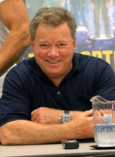 "William Shatner, Shakespearan actor, numerous t.v. series...always be ""Capt. James T. Kirk"""