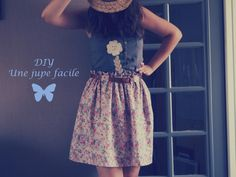 DIY jupe facile http://hotcouture.over-blog.com/diy-une-jupe-facile