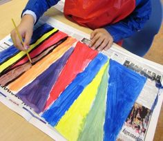 Lines + color mixing