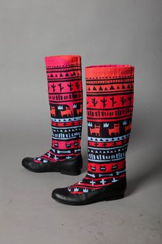 Southwestern boots.