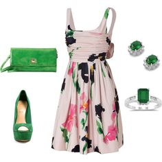 Easter Outfit, created by danasdiva on Polyvore