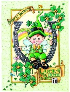 Mary Engelbreit -- St. Patrick's Day