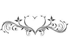 Herz – Nikki Senior – Willkommen bei Pin World Girl Back Tattoos, Love Tattoos, Sexy Tattoos, Lower Back Tattoos, Body Art Tattoos, Tribal Tattoos, Tattoos For Women, Tatoos, Tramp Stamp Tattoos