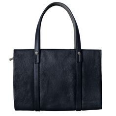 Sagan Tote Bag Large, Navy. In stock late February.<br>サガントートバッグ ラージ、 ネイビー