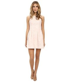 Aidan Mattox Sleeveless Paisley Lace Dress Blush - Zappos.com Free Shipping BOTH Ways