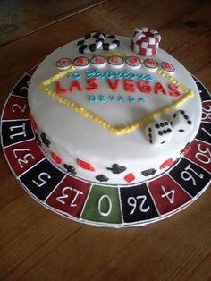 Casino cake, Vegas cake, gambling cake