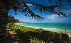 Praia da Lage em São Miguel dos Milagres, Alagoas, Brasil