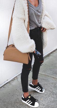 Cozy chunky knit