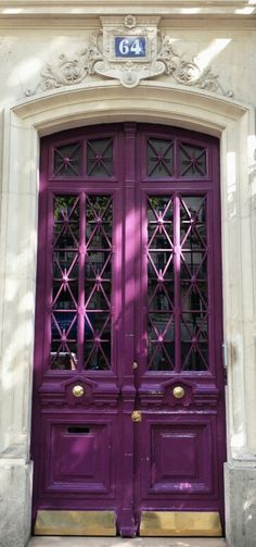 Purple door? Yes please :)