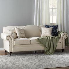 Sofa Pillows Mansfield Seater Fabric Sofa