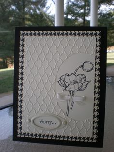 Sketched Poppies~ by stampin'nana - Cards and Paper Crafts at Splitcoaststampers