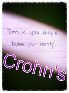 Croh's Crohns Disease Quotes, Chronic Illness Quotes, Crohns Awareness, Ulcerative Colitis, Endometriosis, Words, Crohn's Disease, Emma Rose, Scoliosis