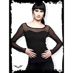 20,00 € Q.O.D Black Shirt With Mesh, S