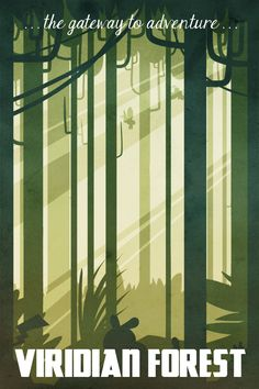 Viridian Forest. by Naroclie