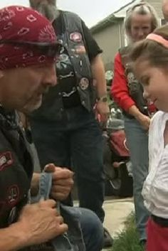 Bikers Against Child Abuse Show Up To Meika Jordan Murder Trial