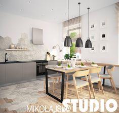 SZARA KUCHNIA New Kitchen Cabinets, Kitchen Flooring, Kitchen Dining, Bar Counter, Modern Kitchen Design, Home Look, Interior Design, Furniture, Home Decor