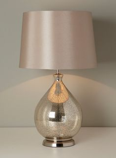 Gold Chloe Table Lamp - BHS