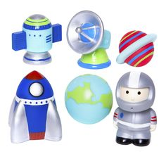 Space Party Bath Squirties!  In Stock $19