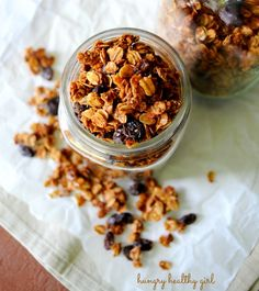 What I Ate Wednesday; featuring some of the breakfast foods I've been enjoying lately, including Oatmeal Raisin Cookie Granola.