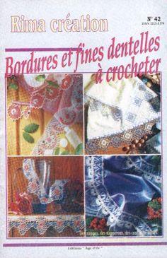 Bordures Et Fines Dentelles A Crocheter