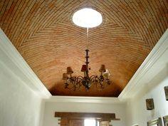 Facade Design, House Design, Ceiling Light Fixtures, Ceiling Lights, Brick Archway, Ceiling Materials, Brick Art, Brick Architecture, Historical Architecture