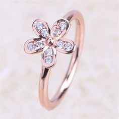 Nanthleene Sterling Silver Rings Cubic Zirconia