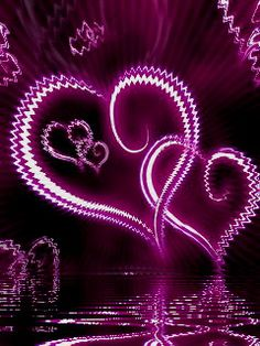 Neon Heart Cell Phone Wallpapers 240x320 Hd Wallpaper Download For ...