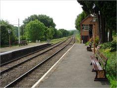 Hampton Loade Station - Severn Railway