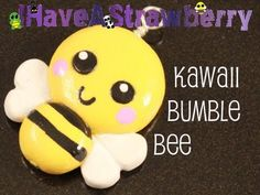 Kawaii Bumble Bee Tutorial for Polymer Clay or Fimo