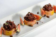 Foie gras, confiture de figue, poivre long et badiane
