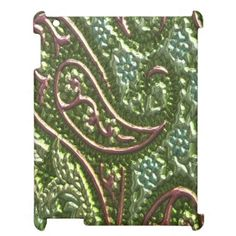 Case Savvy iPad 2/3/4 Faux Metallic pattern case Case For The iPad