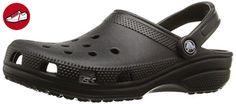 Crocs Classic, Unisex-Erwachsene Clogs, Schwarz  (Black 001), 43/44 EU ( US: M10/W12) - Crocs schuhe (*Partner-Link)