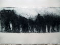 Items similar to Winter in the Dandenongs Landscape nature on Etsy Intaglio Printmaking, Composition, Drypoint Etching, Etching Prints, Landscape Sketch, Pencil Art Drawings, Abstract Art, Abstract Expressionism, Graphic Art